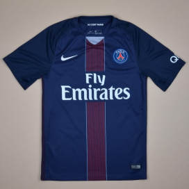 Paris Saint-Germain 2016 - 2017 Home Shirt (Excellent) S