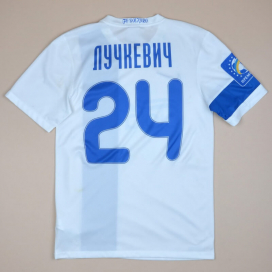 FC Dnipro 2014 - 2015 Match Worn Away Shirt #24 Luchkevich (Excellent) S