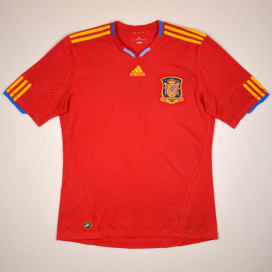 Spain 2009 - 2010 Home Shirt (Good) L