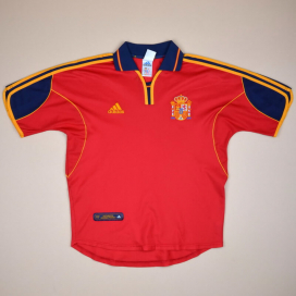 Spain 2000 - 2002 Home Shirt (Very good) S