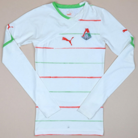 Lokomotiv Moscow 2011 - 2012 Player Issue Home Shirt (Excellent) S
