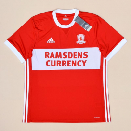 Middlesbrough 2017 - 2018 'BNWT' Home Shirt (New with tags) L