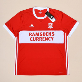 Middlesbrough 2017 - 2018 'BNWT' Home Shirt (New with tags) XL