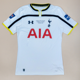 Tottenham 2014 - 2015 'Capital One Cup Final' Home Shirt (Very good) M