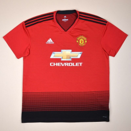 Manchester United 2018 - 2019 Home Shirt (Very good) XL