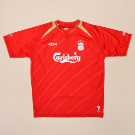 Liverpool 2005 - 2006 Champions League Home Shirt (Very good) L