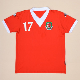 Wales 2006 - 2007 Match Issue Home Shirt #17 (Very good) XXL
