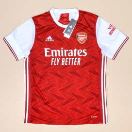 Arsenal 2020 - 2021 'BNWT' Home Shirt (New with tags) L