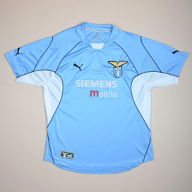 Lazio 2001 - 2002 Home Shirt (Good) M