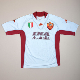 Roma 2001 - 2002 Away Shirt (Very good) S