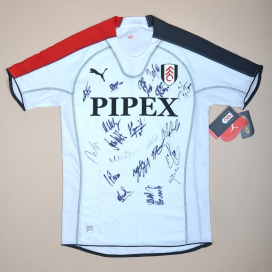 Fulham 2005 - 2006 'BNWT' Signed Home Shirt (New with tags) M