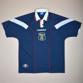 Scotland 1996 - 1998 Home Shirt (Very good) XL