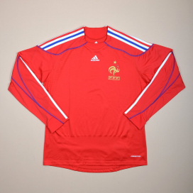 France 2009 - 2010 Player Issue Formotion Goalkeeper Shirt (Excellent) L