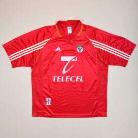 Benfica 1998 - 1999 Home Shirt (Very good) XL