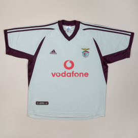 Benfica 2001 - 2002 Away Shirt (Very good) L