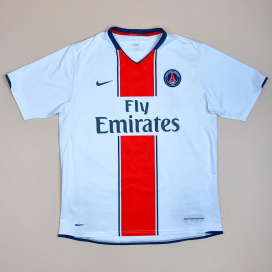 Paris Saint-Germain 2007 - 2008 Away Shirt (Very good) S