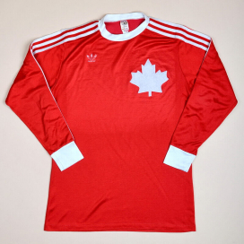Canada 1978 - 1980 Home Shirt (Very good) L
