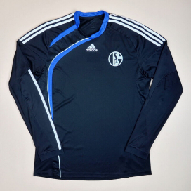 Schalke 2009 - 2010 Player Issue Formotion Away Shirt (Very good) L
