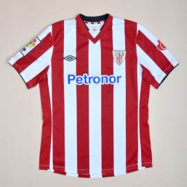 Athletic Bilbao 2012 - 2013 Home Shirt (Very good) M