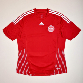 Denmark 2008 - 2009 Player Issue Formotion Home Shirt (Very good) XL