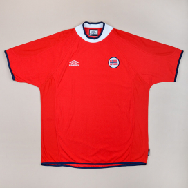 Norway 2000 - 2002 Home Shirt (Excellent) XXL