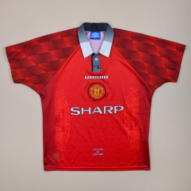 Manchester United 1996 - 1998 Home Shirt (Very good) M