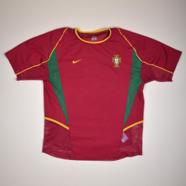 Portugal 2002 - 2004 Player Issue Home Shirt (Very good) M