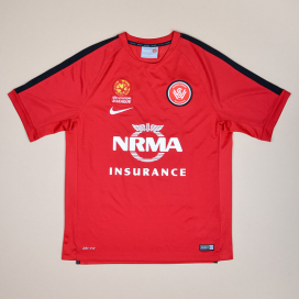 Western Sydney Wanderers 2010 - 2011 Home Shirt (Excellent) L