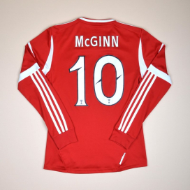 Aberdeen 2012 - 2013 Home Shirt #10 McGinn (Very good) S
