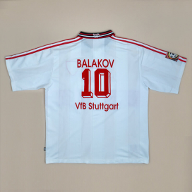 Stuttgart 1995 - 1997 Home Shirt #10 Balakov (Good) XXL