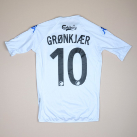 FC Copenhagen 2006 - 2007 Home Shirt #10 Gronkjaer (Very good) S