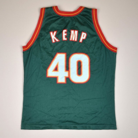 Seattle Supersonics NBA Basketball Shirt #40 Kemp (Not bad) S