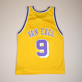 Los Angeles Lakers NBA Basketball Shirt #9 Van Exel (Very good) L