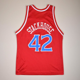 Philadelphia 76ers NBA Basketball Shirt #42 Stackhouse (Excellent) XL