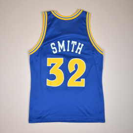 Golden State Warriors 2000 NBA Basketball Shirt #4 Smith (Very good) L