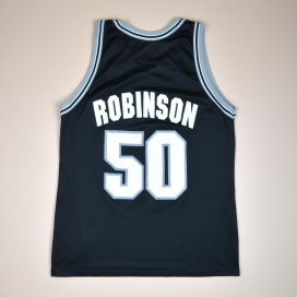San Antonio Spurs 2000 Basketball Shirt #50 Robinson (Very good) L