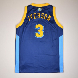 Denver Nuggets 2000 NBA Basketball Shirt #3 Iverson (Very good) M