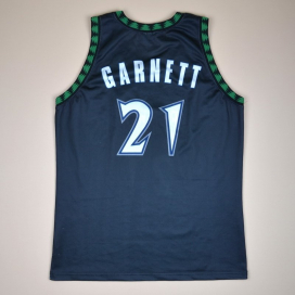 Minnesota Timberwolves 2000 NBA Basketball Shirt #21 Garnett (Very good) M