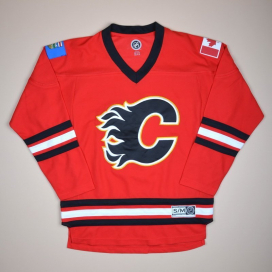 Calgary Flames 2000 NHL Hockey Shirt (Excellent) S/M