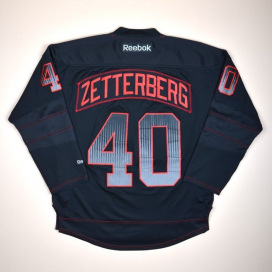 Detroit Red Wings NHL Hockey Shirt #40 Zetterberg (Excellent) M