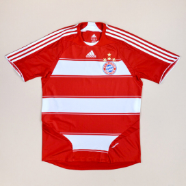 Bayern Munich 2008 - 2009 Player Issue Formotion Home Shirt (Excellent) L