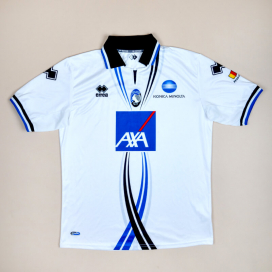 Atalanta 2011 - 2012 Away Shirt (Excellent) XL