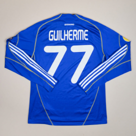 Dynamo Kiev 2010 - 2011 Match Issue Europa League Away Shirt #77 Guilherme (Very good) M