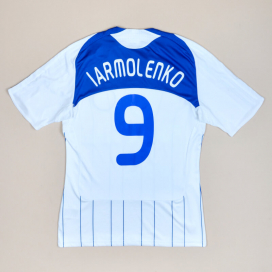 Dynamo Kiev 2008 - 2009 Home Shirt #9 Iarmolenko (Very good) S
