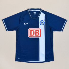 Hertha Berlin 2008 - 2009 Home Shirt (Very good) S