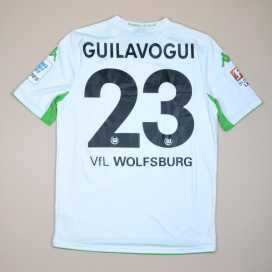Wolfsburg 2014 - 2015 Match Issue Home Shirt #23 Guilavogui (Excellent) M