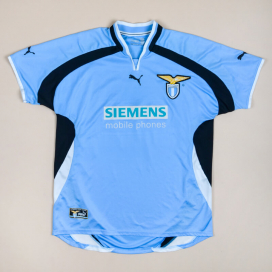 Lazio 2000 - 2001 Home Shirt (Very good) XL