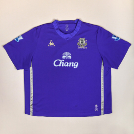 Everton 2009 - 2010 Limited Edition Special Shirt #9 Jones (Good) XXXL