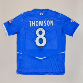 Rangers 2008 - 2009 Home Shirt #8 Thomson (Very good) XL