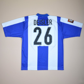 Hertha Berlin 1999 - 2000 Home Shirt #26 Deisler (Very good) M